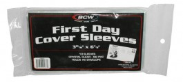 Protetor Maximo postal BCW - First Day Cover Sleeves