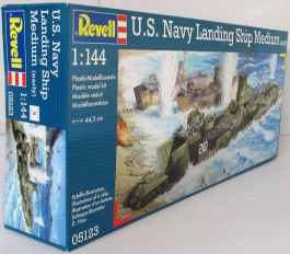 U.S. Navy Landing Ship Medium (Early) - 1/144 - Revell