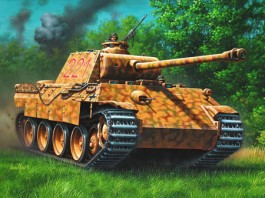 Tanque Panzer V Panther - 1/72 REV 03107