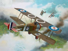 Sopwith F-1 Camel - 1/72 REV 04190