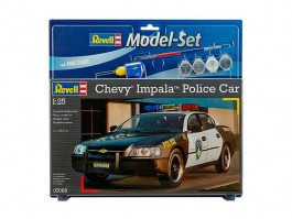 Model Set Chevy Impala Police Car - 1/25