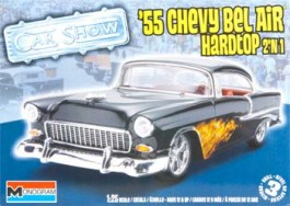 Chevy Bel Air Hardtop 2N1 1955 - 1/25 -  Revell 854295
